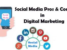 Social Media Pros & Cons in Digital Marketing
