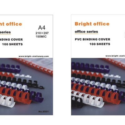 PVC binding cover Office Supply