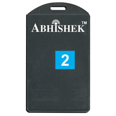 Single Side Pasting Holder of size 54x86 mm in Black Colour and Vertical OrientationIt is ideal for business, schools and organization for all there ID card needs. Not only it protects the keep the id cards safe but also provides high branding value and