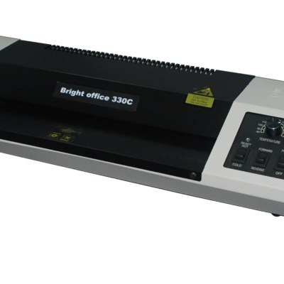 Laminator machine Office Supply Laminating Speed :0.5m/min,Laminating Width :330 mm,Laminating Thickness :2 mm,Operating Temperature :80-180, Quality of Roller :4,Heating Method :infrared Heating Power Supple(Optional), AC100/120/220/240V / 50/60Hz :Powe