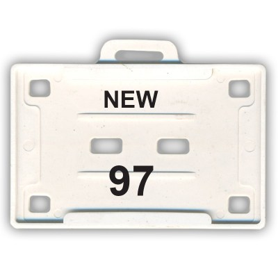 Insert Holder of size 54x86 mm in White Colour and Horizontal OrientationIt is ideal for business, schools and organization for all there ID card needs. Not only it protects the keep the id cards safe but also provides high branding value and personaliza