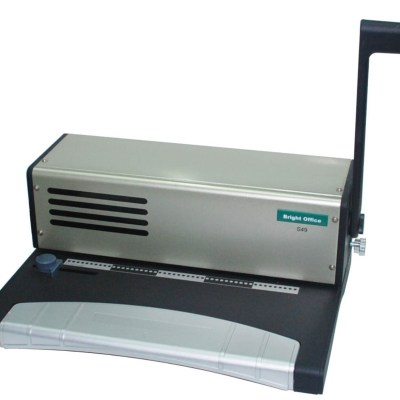 Binding machine Office Supply Punch up to:20 sheets each time,Packing :~1/2,Measure :53x46x44 cm