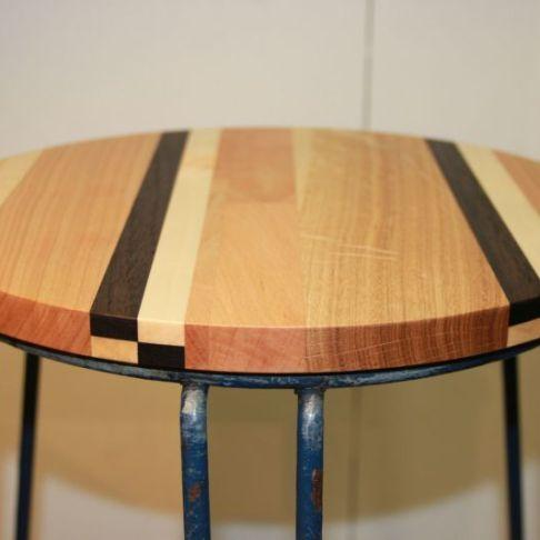 tafel zitting krukje massief amerikaans noten esdoorn eiken beuken amerikaans kersen meubels meubelmaker nijmegen restauratie