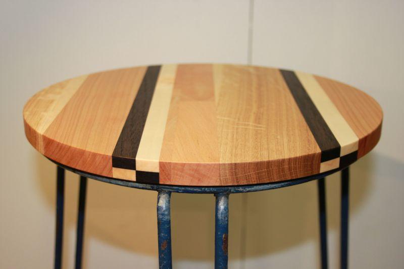zitting krukje massief amerikaans noten esdoorn eiken beuken amerikaans kersen meubels meubelmaker nijmegen restauratie
