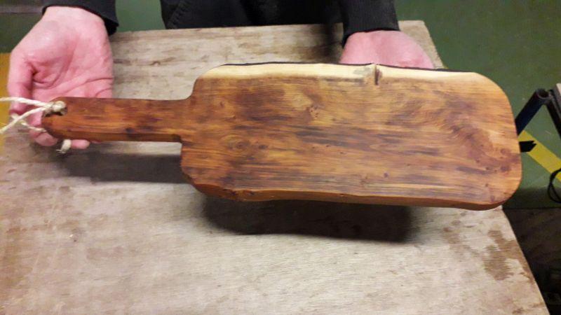 planchette arrangement uitje eten koken honigcomplex activiteit houtbewerken houtbewerking