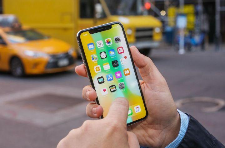 I-phone X screen