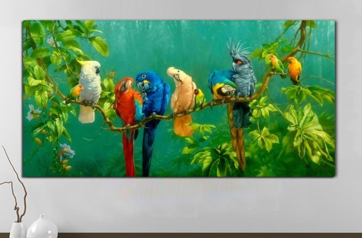 Parrot Paintings