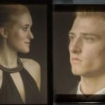 Abiball-Fotograf bietet auch Profil-Portraits - beim Abiball.