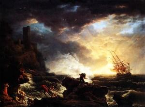 Claude Vernet-Shipwreck-Bruges