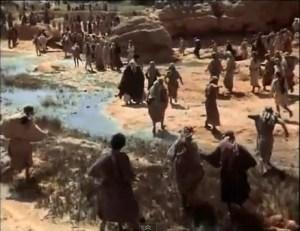 John the Baptist - crowd