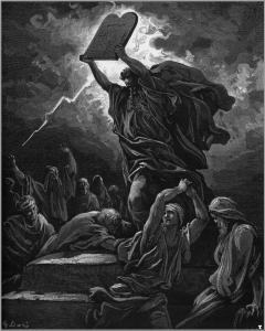 Moses by Gustave Dore