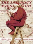 Santa by Norman Rockwell
