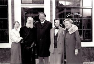 Corrie Ten Boom and Billy Graham