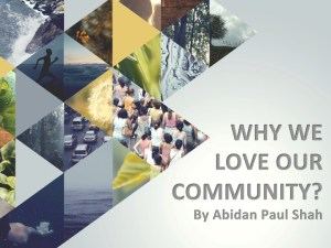 Why we love our community