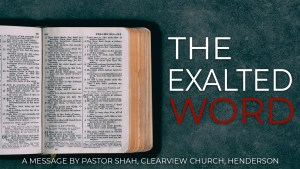 The Exalted Word