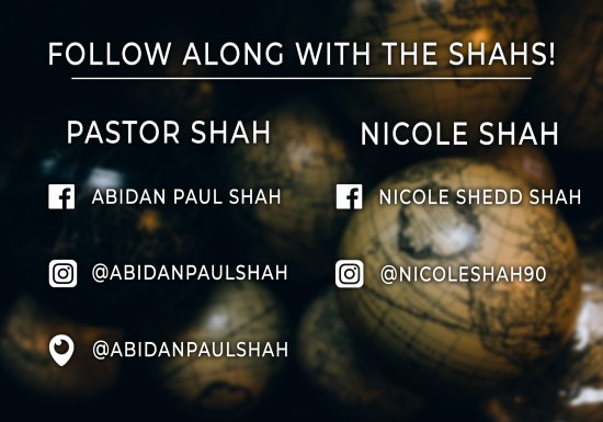 Follow the Shahs Live
