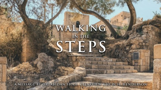 Walking in the Steps