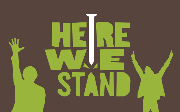 Here We Stand Confirmation Curriculum | Abiding Grace Lutheran Church