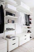 Ankleidezimmer Offener Kleiderschrank Ikea Stolmen Closet ...