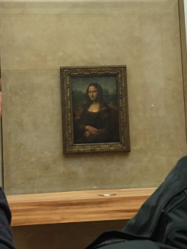 The Mona Lisa, Louvre