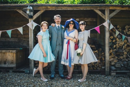 Summer vintage wedding