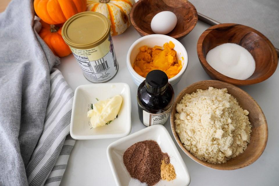 pumpkin cookies ingredients