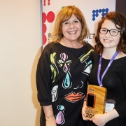 Maggie Philbin and Kiera from Dyslexic Aid