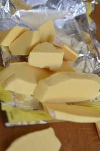 chopped soap. One full bar.