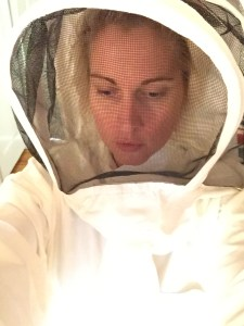 tried on my Bee Suit..my best photo ever?