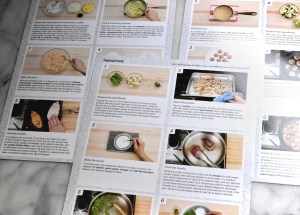 recipes and instructions