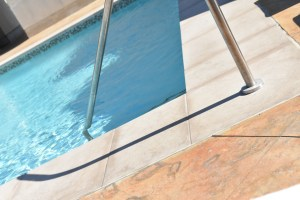 the pool..