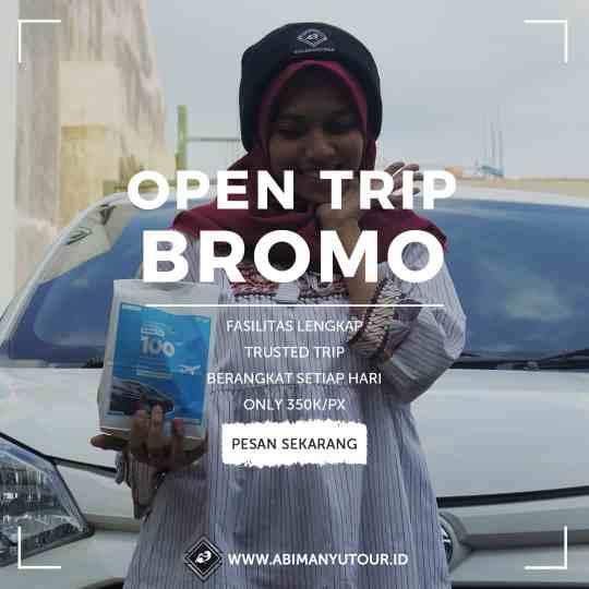 Open Trip Bromo Midnight
