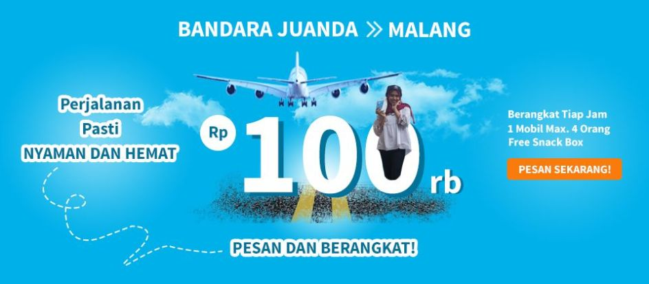 TRAVEL JUANDA-MALANG ABIMANYU TRAVEL 2018