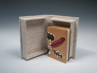 Nellie M. Pierpoint Miniature Bird Prints Clamshell Case Open