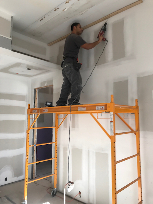 commercial acoustic ceiling installer