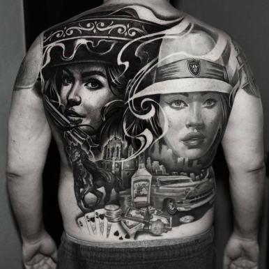girl-mobster-gun-vintage-back-tattoo.jpg