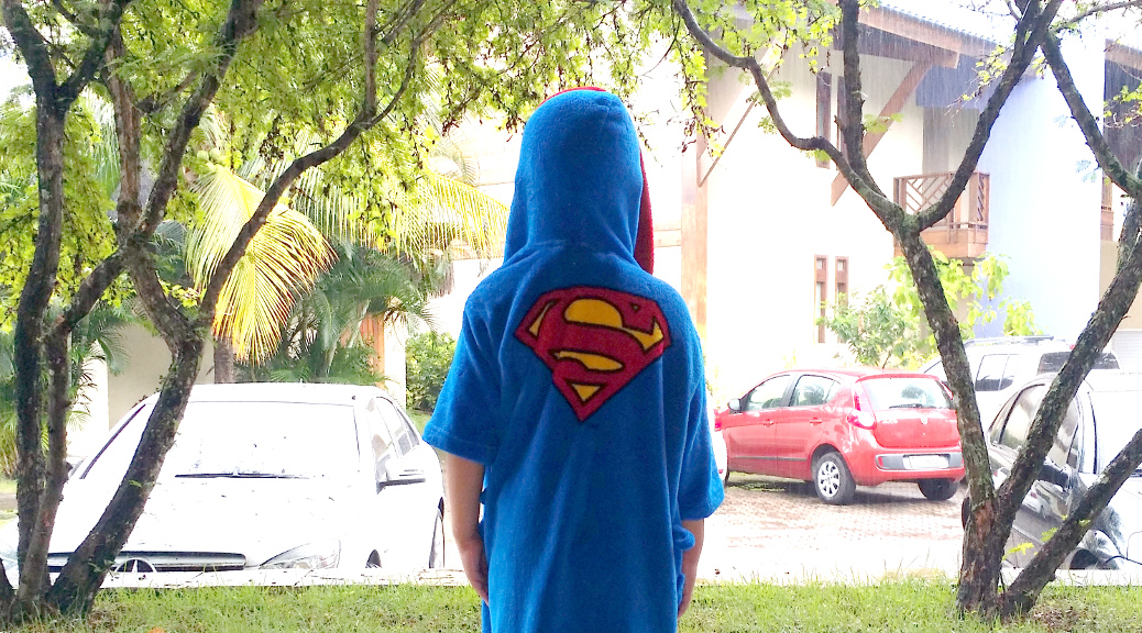 Levi as Superman