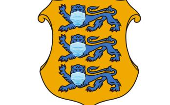 Maskis lõvid Eesti vapil