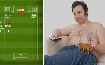 Jalgpalli vaatamine