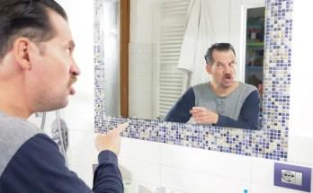 Mehe peegelpilt