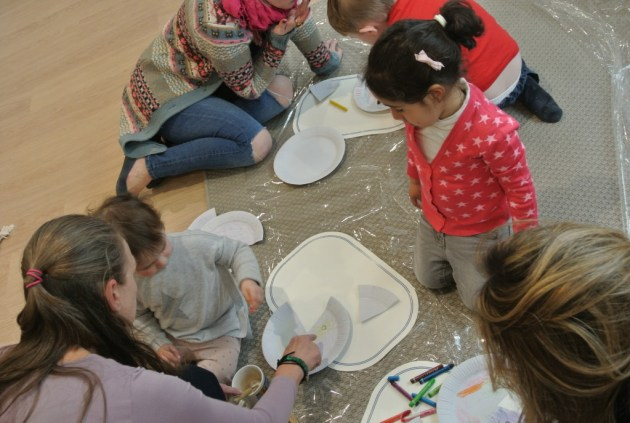 Craft Session at Three Little Pigs