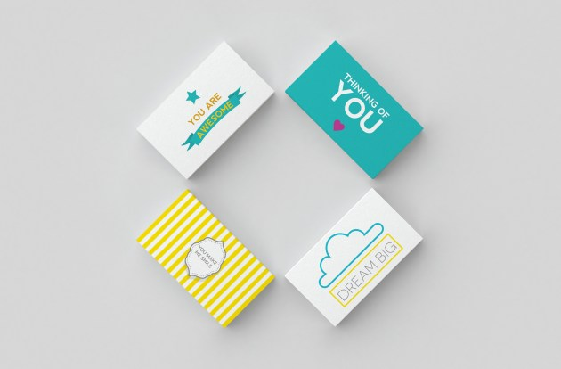 Lunchbox Notes display