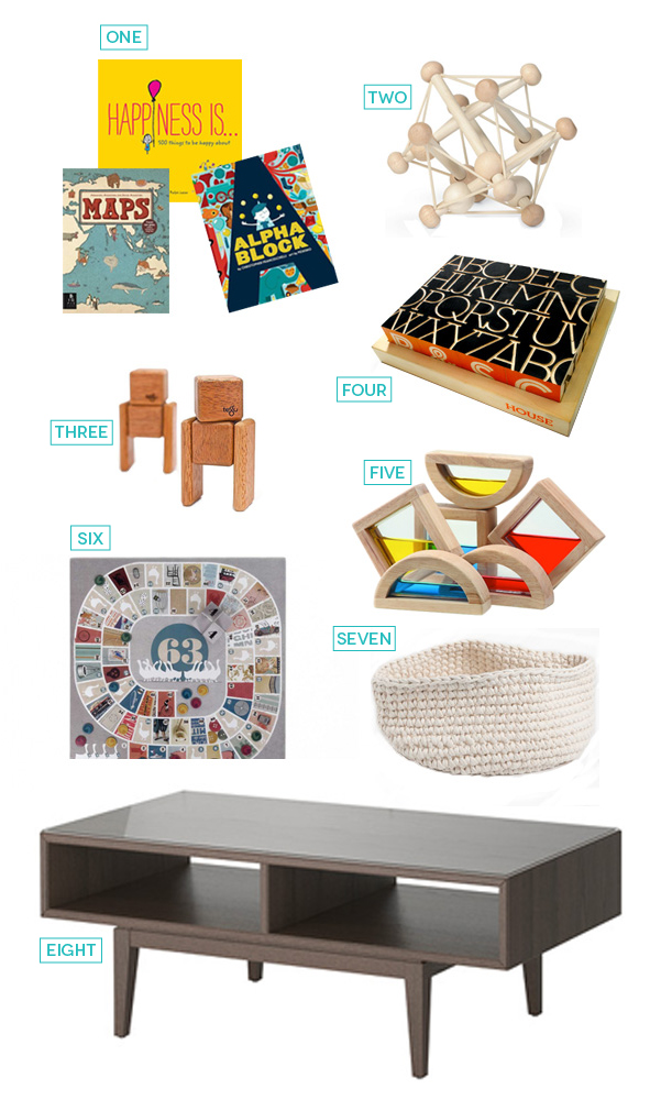 Coffee Table Books & Decor for Kids