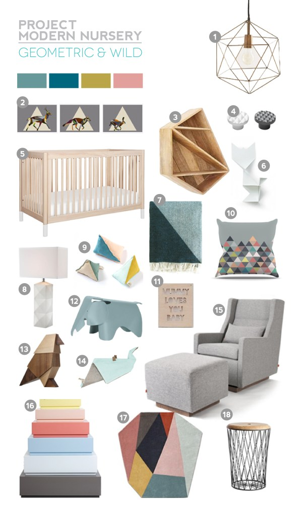 Project Modern Nursery: Geometric And WildProject Modern Nursery: Geometric And Wild