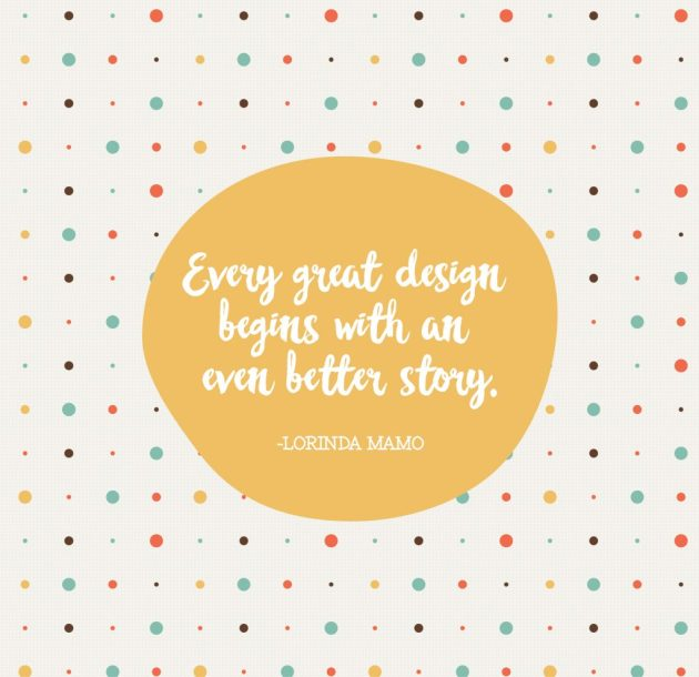 Every Great Design Begins with an Even Better Story - Lorinda Mamo - A Bird with a French Fry