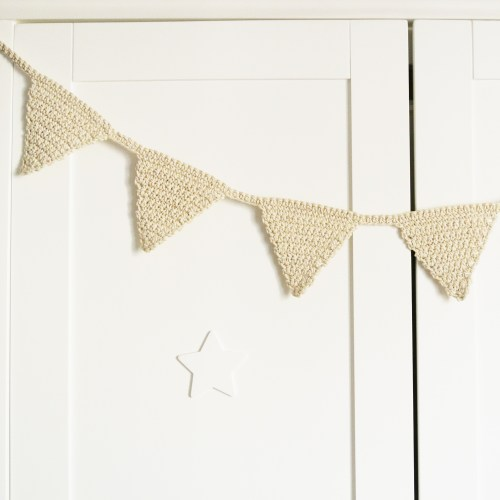 Naturals Collection Bunting Garland - A Bird with a French Fry Kids Concept Shop