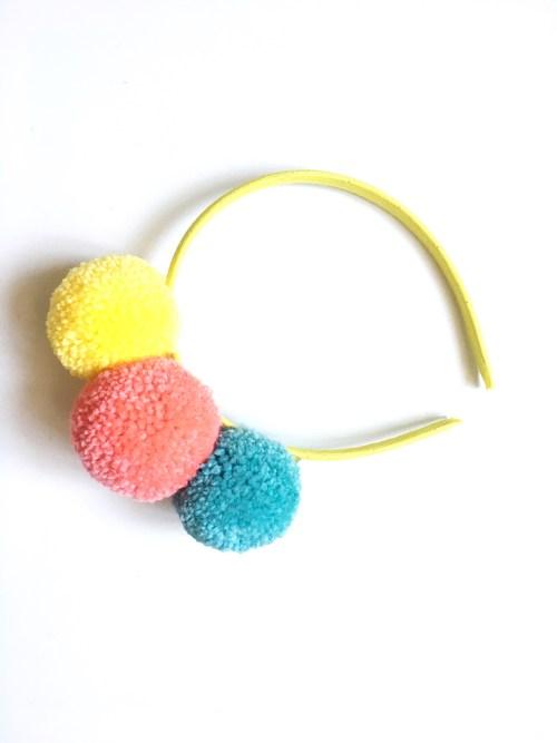 Pom Pom Headbands - A Bird with a French Fry