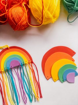 A Bird with a French Fry - DIY Foam Rainbow Craft Kit