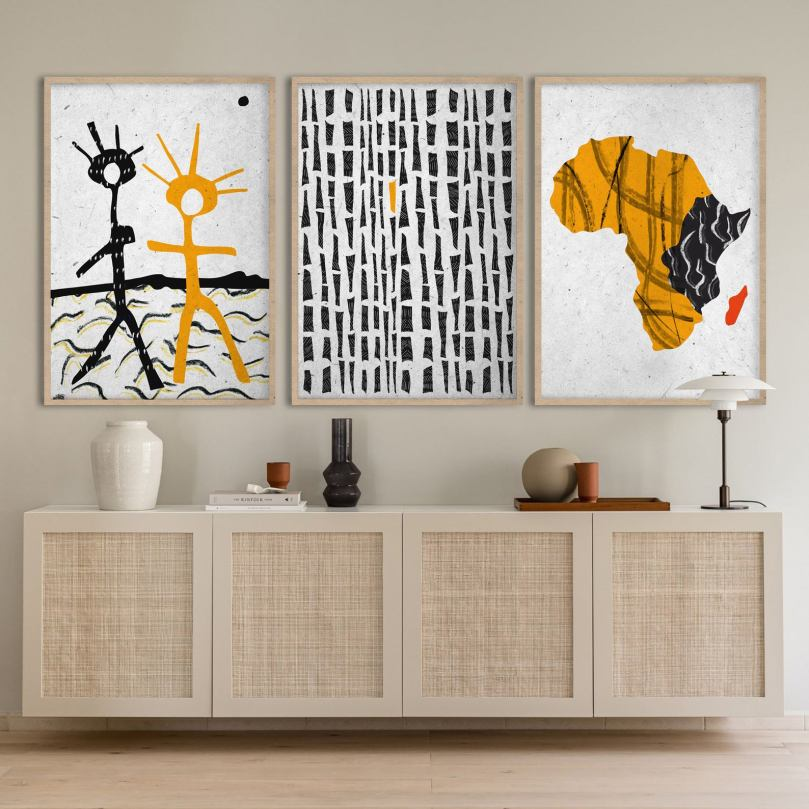 African abstract art