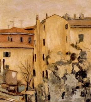 La terrazza della Zia Lisa, Via Fondazza 63, 1957